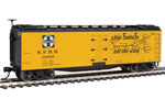 Santa Fe 40' Early Wood Reefer #25968