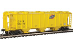 Chicago & North Western 50' PS 2893 3-Bay Covered Hopper #95466