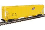 Chicago & North Western PS 4427 CD Covered Hopper #96319