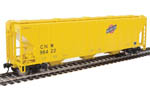 Chicago & North Western PS 4427 CD Covered Hopper #96422