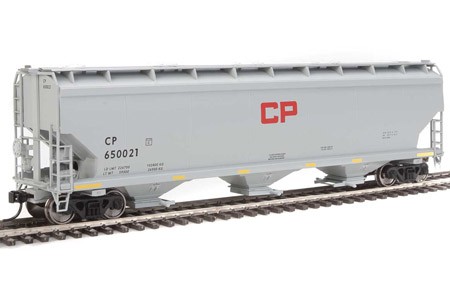 Canadian Pacific 60' NSC 5150 3-Bay Covered Hopper #650021