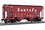 Santa Fe 37' 2980 2-Bay Covered Hopper #350037