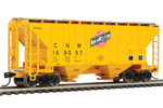 Chicago & North Western 37' 2980 2-Bay Covered Hopper #169097
