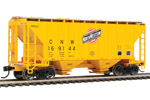Chicago & North Western 37' 2980 2-Bay Covered Hopper #169144