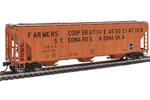 Farmers Co-Op 55' Evans 4780 3-Bay Covered Hopper #26720