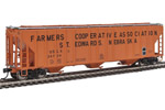 Farmers Co-Op 55' Evans 4780 3-Bay Covered Hopper #26724