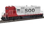 Soo Line GP9 #2413 (DCC & Sound)