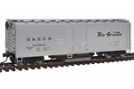 Denver & Rio Grande Western 40' Plug Door Track Cleaning Box Car #69035