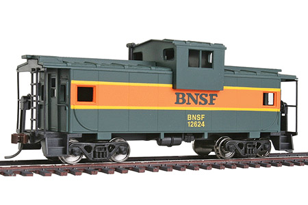 BNSF Wide Vision Caboose #12624