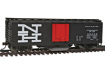 New Haven 40' Plug Door Track Cleaning Box Car #36833