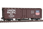 Union Pacific 40' Plug Door Track Cleaning Box Car #113808