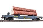 Baltimore & Ohio Log Dump Car w/ Load #9300