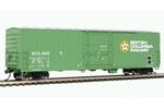 British Columbia Railway 50' Insulated Box Car #4659