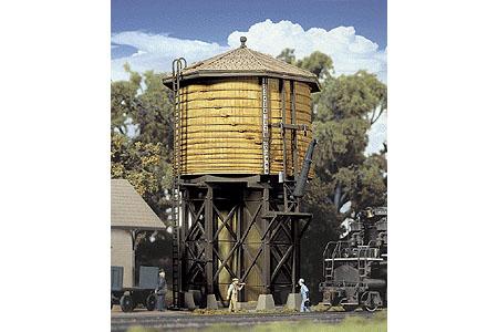 Built-Up Wood Water Tank (Yellow Ochre)
