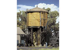 Built-Up Wood Water Tank (Yellow Ochre)