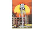 Built-Up City Water Tower (Silver)