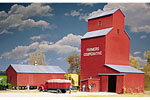 Farmers Co-op Rural Grain Elevator