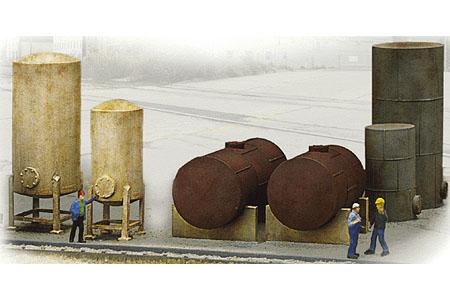 Industrial Tanks Set