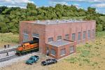 2-Stall 130' Brick Diesel House