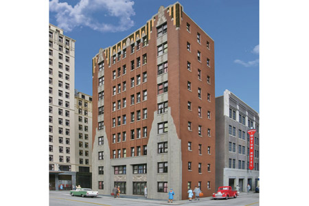 City Apartment Building (Background)