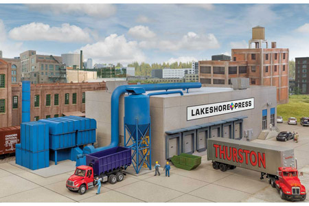 Modern Printing Plant