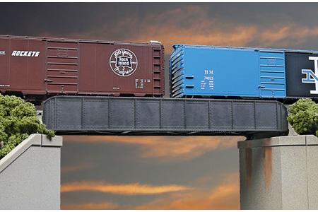 50' Single Track Through Girder Bridge