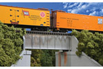 30' Single Track Deck Girder Bridge (Standard Level)