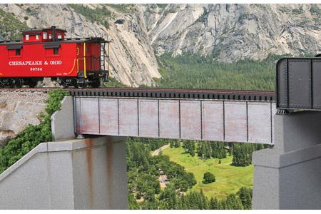 50' Single Track Deck Girder Bridge
