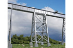 Steel Railroad Bridge Tower
