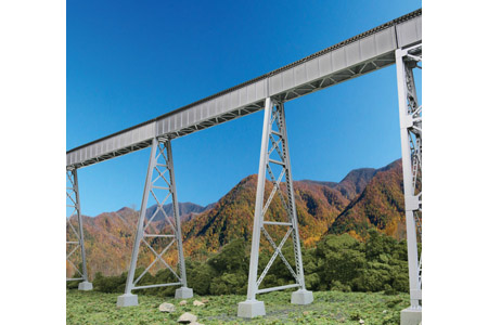 Steel Railroad Bridge Tower Bent (2 Pack)