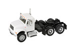 International 4900 Dual-Axle Semi Tractor (White)
