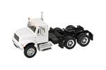 International 4900 Dual-Axle Semi Tractor (White)