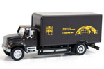International 4900 Single-Axle Box Van - UPS (Bowtie Shield)