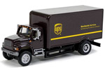 International 4900 Single-Axle Box Van - UPS (Modern Shield)
