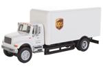 International 4900 Single-Axle Box Van - UPS (Cartage Services)