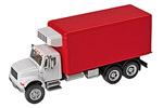 International 4900 Dual-Axle Refrigerated Van (White/Red)