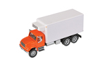 International 4900 Dual-Axle Refrigerated Van (Orange/White)