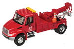 International 4300 Tow Truck (Red)