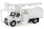 International 4300 Dual-Axle Truck w/ Tree Trimmer Body (White)