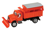 International 4900 Dump Truck w/ Plow (Orange)