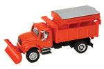 International 4900 Dump Truck w/ Plow (Orange)