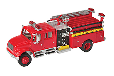 International 4900 Crew Cab Fire Engine