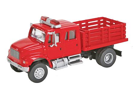 International 4900 Fire Department Utility Truck