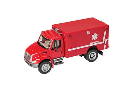 International 4300 EMS Ambulance