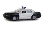 Ford Crown Victoria Police Interceptor - Police, Sheriff & Highway Patrol (Black/White)