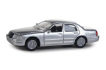 Ford Crown Victoria Police Interceptor - Unmarked Unit (Silver)