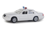 Ford Crown Victoria Police Interceptor - Police (White)