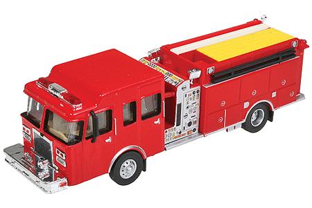 Heavy-Duty Fire Engine