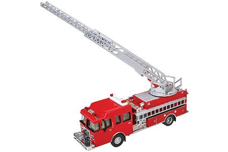Heavy-Duty Ladder Fire Truck