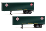 35' Trailer 2 Pack - Railway Express Agency
